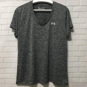 Under Armour Loose Gray T-Shirt XL